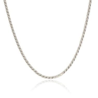 Söğütlü Silver Kolye Beyaz